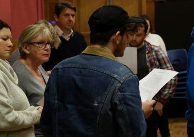 Romeo & Juliet Rehearsal
