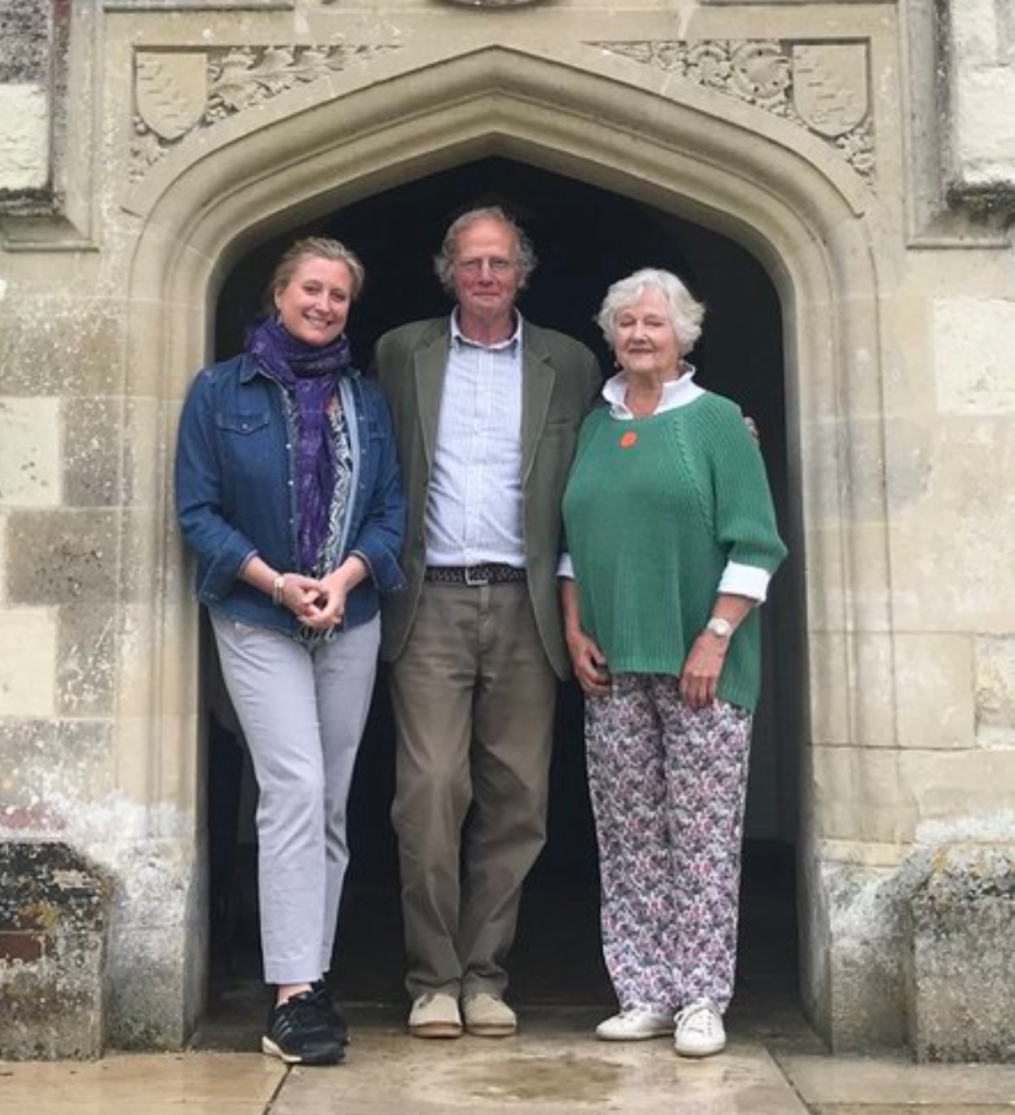 Austen Sisters - Susannah Harker and her mum with Austen descendent